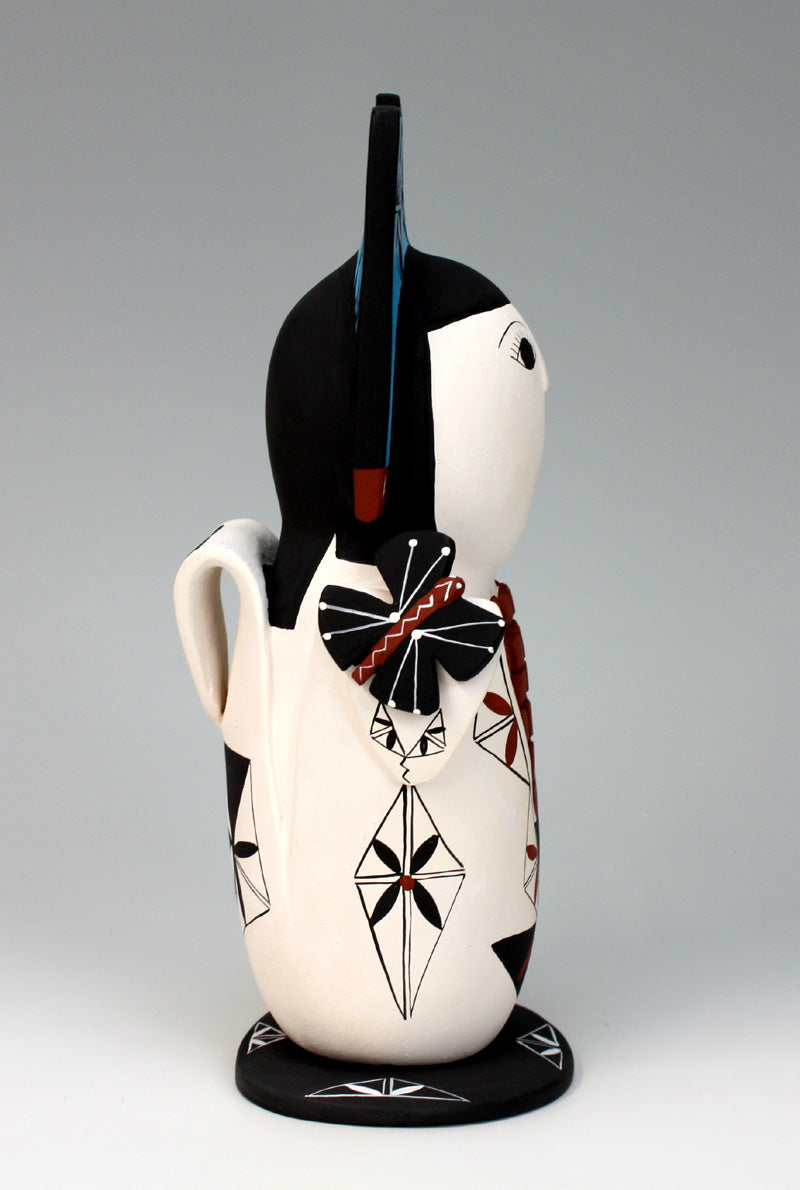 Cochiti Pueblo Native American Indian Pottery Cornmaiden - Vangie Suina