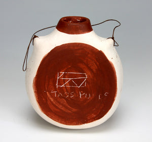Taos Pueblo Native American Indian Pottery Water Jug #9 - Suann Davin