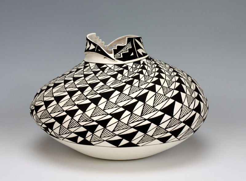 Acoma Pueblo Native American Indian Pottery Jar #2 - Shana Garcia