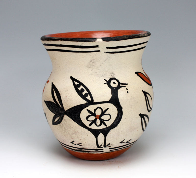 Kewa - Santo Domingo Pueblo American Indian Pottery Jar - Marlene Melchor