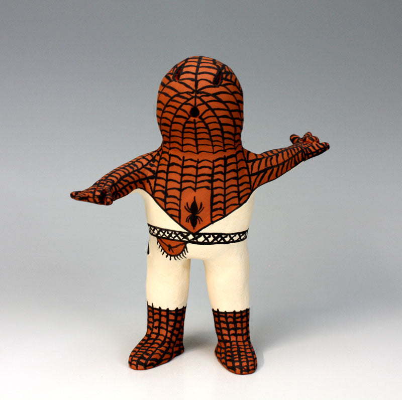 Cochiti Pueblo Native American Indian Pottery Spiderman - Martha Arquero