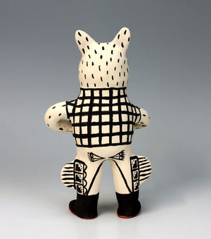 Cochiti Pueblo Native American Indian Pottery Coyote - Martha Arquero