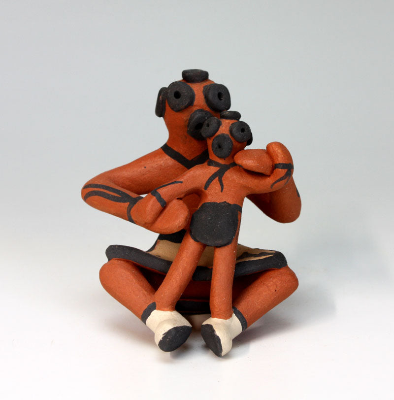 Jemez Pueblo American Indian Pottery Mudhead Clown #4 - Ben Fragua