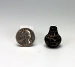 Santa Clara Pueblo Indian Pottery Miniature Seed Jar #1 - Monica Naranjo