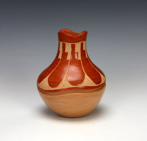 Jemez Pueblo Native American Indian Pottery Vase #2 - Emma Yepa