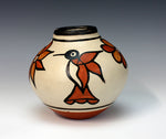 Kewa Pueblo Indian Pottery Hummingbird Jar #1 - Rose Pacheco