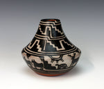 Kewa - Santo Domingo Pueblo American Indian Pottery Deer Jar - Robert Tenorio