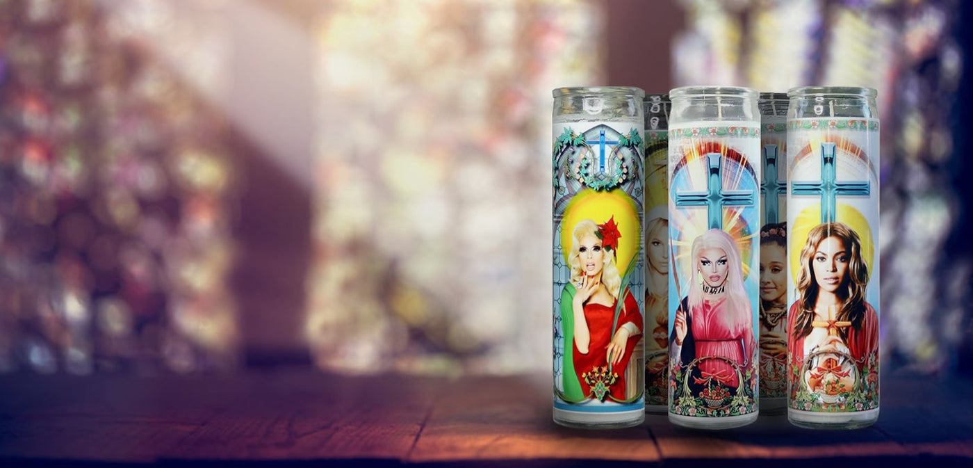 Celebrity Prayer Candles - Do Pray Tell