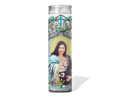 Selena Celebrity Singer Prayer Candle - Selena Quintanilla