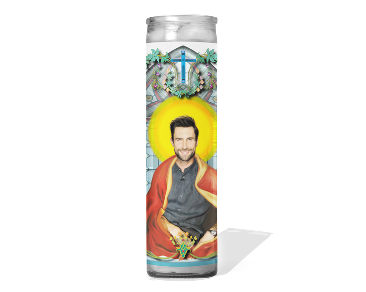 Adam Levine Celebrity Prayer Candle - Maroon 5