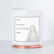 Love That Journey For Me - Alexis Rose - Luxe Scented Soy Candle - Grapefruit & Mint