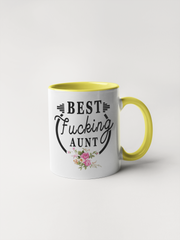 Best Fucking Aunt Coffee Mug - Adult Humor