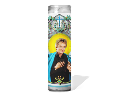Barry Manilow Celebrity Prayer Candle