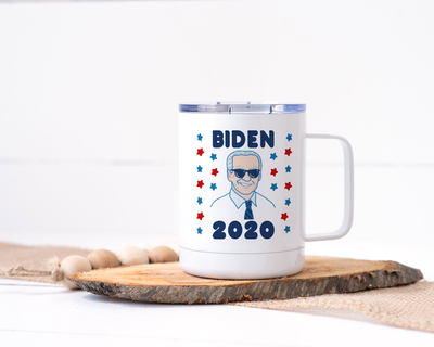 Biden 2020 Stainless Steel Travel Mug - Joe Biden for President