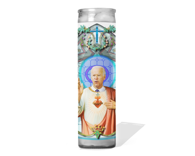 Joe Biden Celebrity Politician Prayer Candle