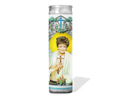Blanche Devereaux Celebrity Prayer Candle - Golden Girls