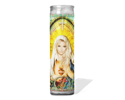 Britney Spears Celebrity Prayer Candle