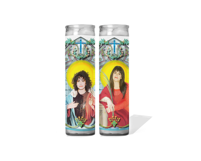 Broad City Celebrity Prayer Candle Set of 2 - Abbi and Ilana