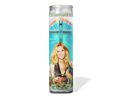 Celine Dion Celebrity Prayer Candle