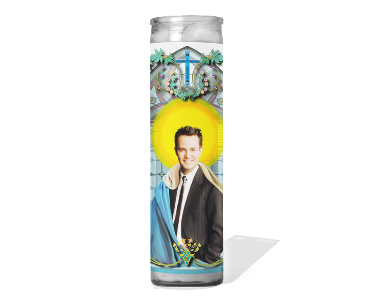 Chandler Bing Celebrity Prayer Candle - Friends - Matthew Perry