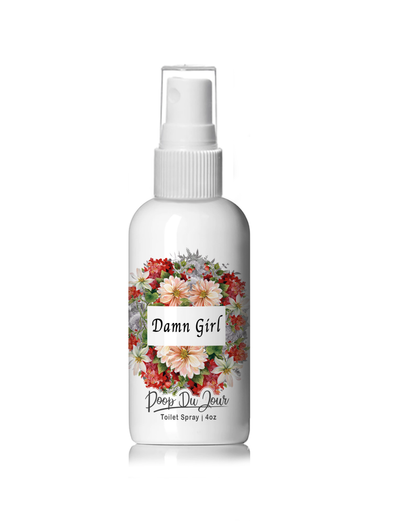 Damn Girl - Poop Du Jour Toilet Spray Citrus Essential Oil Blend
