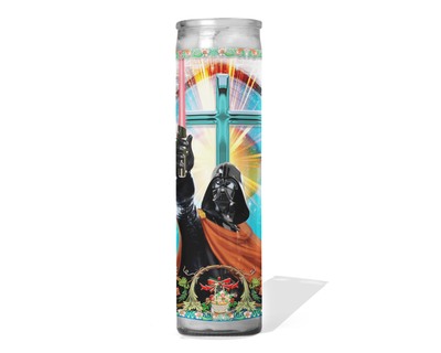 Darth Vader Celebrity Prayer Candle - Star Wars