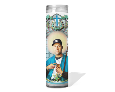 Yankees Derek Jeter Celebrity Prayer Candle