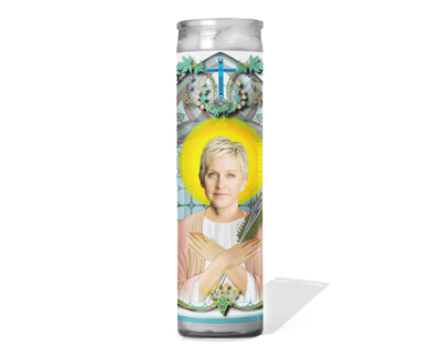 Ellen Degeneres Celebrity Prayer Candle