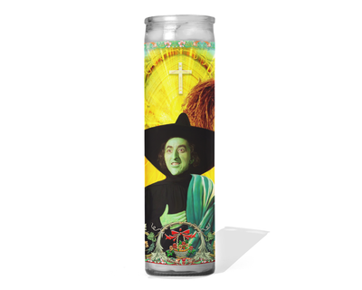 Elphaba Wizard of Oz Celebrity Prayer Candle - Wicked