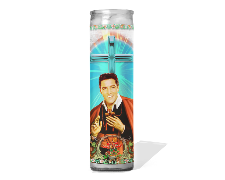 Elvis Presley Celebrity Prayer Candle