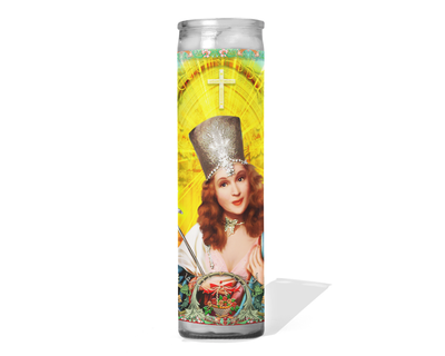 Glinda the Good Witch Wizard of Oz Celebrity Prayer Candle - Wicked