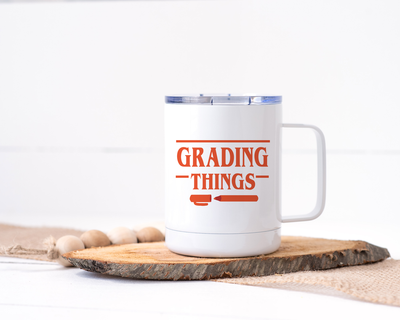 Grading Things Stainless Steel Travel Mug