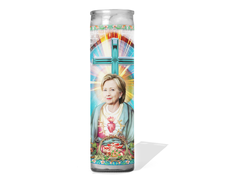 Hillary Clinton Celebrity Prayer Candle