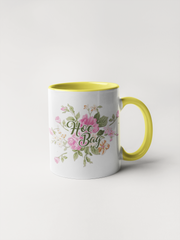 Hoe Bag - Floral Delicate and Fancy Coffee Mug