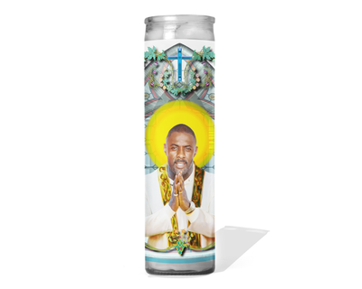 Idris Elba Celebrity Prayer Candle