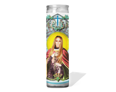 Jennifer Lopez Celebrity Prayer Candle