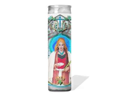 Jinkx Monsoon Celebrity Drag Queen Prayer Candle - RuPaul's Drag Race