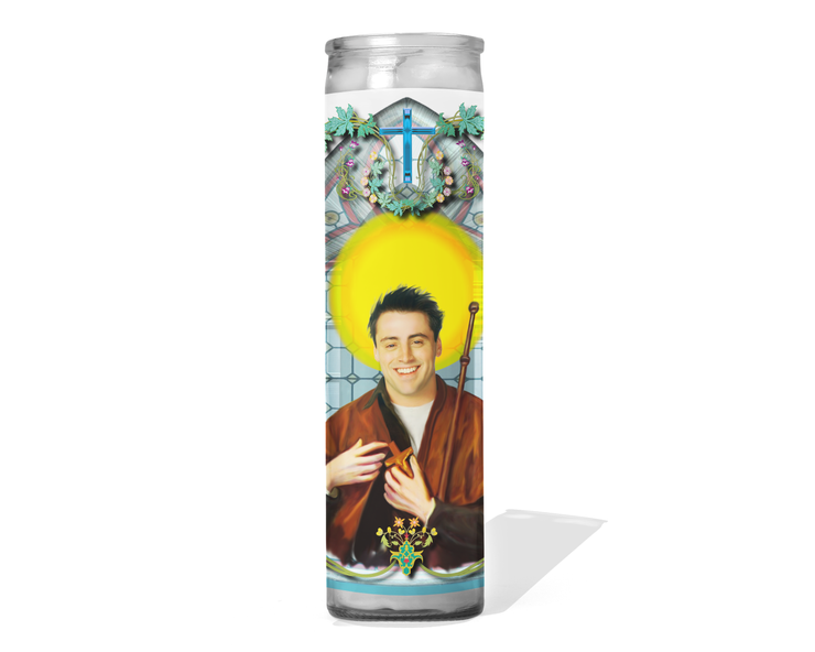 Joey Tribbiani Celebrity Prayer Candle - Friends - Matt Leblanc