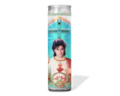 John Stamos Celebrity Prayer Candle - Full House