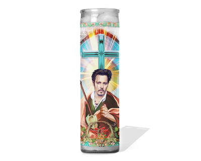Johnny Depp Celebrity Prayer Candle