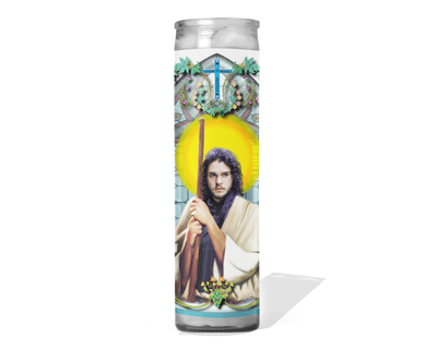 Jon Snow Celebrity Prayer Candle