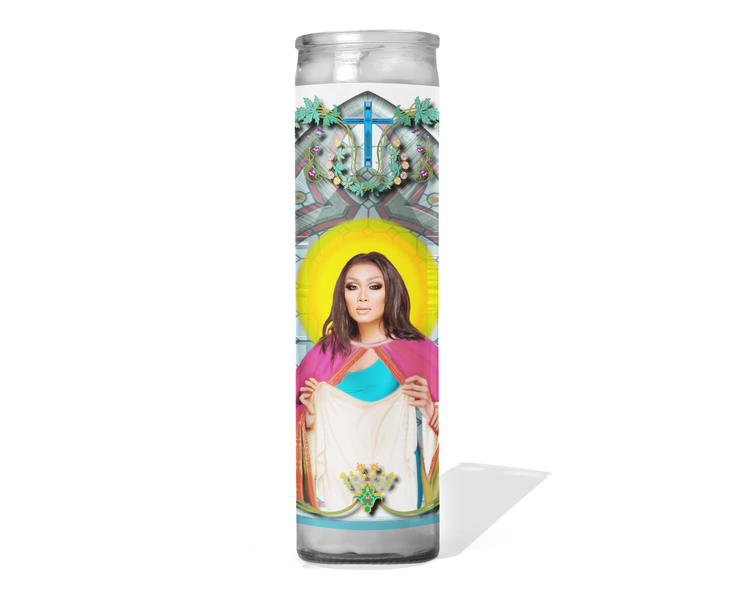 Jujubee Celebrity Drag Queen Prayer Candle - RuPaul's Drag Race