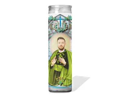 Justin Timberlake Celebrity Prayer Candle
