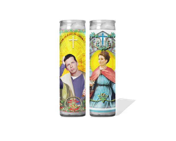 Karen and Jack Celebrity Prayer Candle - Will and Grace