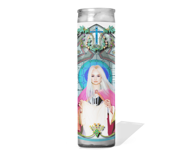 Kim Petras Celebrity Prayer Candle