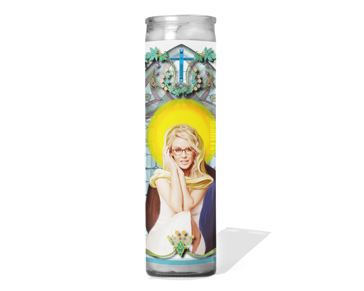 Kylie Minogue Celebrity Singer Prayer Candle
