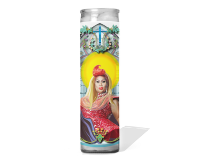 Latrice Royale Celebrity Drag Queen Prayer Candle - RuPaul's Drag Race
