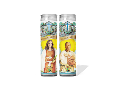 Law and Order SVU - Olivia Benson and Fin Prayer Candle Set