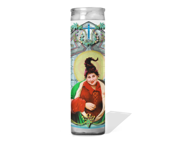 Hocus Pocus - Mary Sanderson Celebrity Prayer Candle