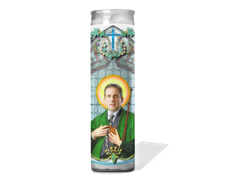 Michael Scott Celebrity Prayer Candle - The Office